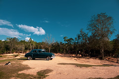 In the middle of the Valley. (Pierre Bodilis) Tags: car cuba landscape vinalescubaviñalespinardelríoprovincecu