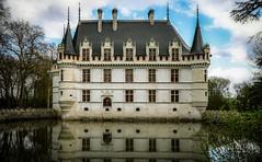 (Of Gass) Tags: rideau le azay hd hight castle chateaux de definition france histoire history hitoric la loire nikkor nikon