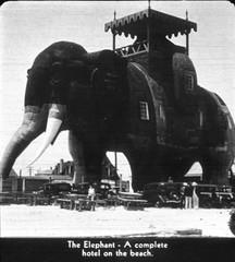 Tru-Vue  Atlanic City 1934 (foundin_a_attic) Tags: truvue tru vue atlanic city 1934 stereoscopic filmstrips earl rossman newjersey margate elephant lucy