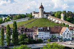 Schaffhausen Munot (olle.graf) Tags: 2018 olle burg castle fluss fujifilm may munot rhein river schaffhausen schweiz switzerland xe2 feuerthalen zürich ch