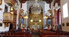 inside Church of Our Lady of Monte, Madeira island (kartix) Tags: nossasenorhadomonte church interior inside churchofourlady monte funchal chancel altar apse