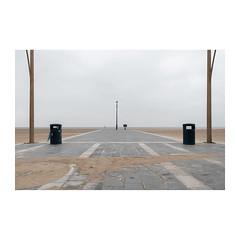 Viewpoint (John Pettigrew) Tags: lamp lines tamron d750 2470mm disymmetry lamppost space empty mundane post documentary beach imanoot banal topographics ordinary deserted desolate nikon angles bins johnpettigrew