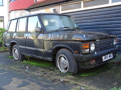 1993 Range Rover Vogue Auto (Neil's classics) Tags: vehicle car 1993 range rover landrover offroad wagon abandoned