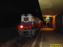 Mk45-2004 (Bendegúz) Budapest-Hűvösvölgy, 2018. 12. 28. (petrsbence) Tags: máv vonat vasút kisvasút gyv gyermekvasút railways trains bahn zug narrowgauge schmalspurbahn childrenrailway kinderbahn dieselmozdony mk45 bendegúz éjszaka night széchenyihegy budapest hűvösvölgy hungary
