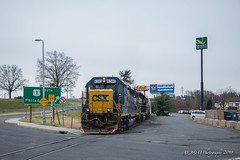 CSXT EMD GP40-2 #6240 @ Morrisville, PA (Darryl Rule's Photography) Tags: 2018 aestaley buckscounty cpdq csx csxt clouds cloudy conrail conrailsharedassets dq dairyqueen delmorrave diesel diesels emd gp402 mor1 morrisville ns norfolksouthern oldline prr pennsy pennsylvania pennsylvaniaave railroad railroads staley staleylocal streetrunning tollbrothers train trains winter ypmor1