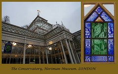 Horniman Museum 30-12-2018 (31 & 32) (Padski1945) Tags: hornimanmuseum foresthill london se233pq londonmuseums londonscenes museumsoflondon museumsofengland museumsofgreatbritain museumsofbritain stainedglass stainedglasswindow stainedglasswindows frederickjohnhorniman charlesharrisontownsend architect artsandcraftsstyle