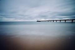 Ruhe vor dem Sturm (kuestenkind) Tags: ostsee balticsea seebrücke langzeitbelichtung longexposure blue