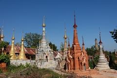 Nyaung Ohak pagodas, Inthein (28)