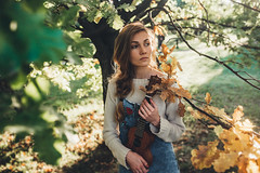 Lada (showpx) Tags: nikon d600 girl music trees sun sunset
