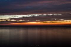 Black Keys (Aaron Springer) Tags: michigan northernmichigan lakemichigan thegreatlakes clouds water horizon reflection twilight outdoor nature waterscape
