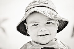 - (daviescamph) Tags: portrait retrato nikon kid boy photo blancoynegro blackandwhite baby bebe