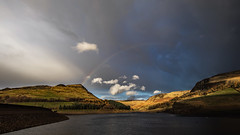 Pot of gold was at Alderman today (Craig Hannah) Tags: alderman aldermanrocks dovestones dovestonesreservoir chewvalley peakdistrictnationalpark peakdistrict greenfield rspb rainbow clouds sky light hills saddleworth westriding yorkshire landscape reservoir craighannah november 2018 canon photography photos oldham greatermanchester england uk
