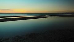 Evening mood on the baltic sea (Ostseeleuchte) Tags: eveningmoodonthebalticsea ostsee abendstimmung abendlicht eveninglight clouds wolken scharbeutz norddeutschland ostholstein germany