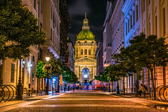 The Basilica at night (Vagelis Pikoulas) Tags: basilica budapest night city cityscape landscape urban architecture church canon 6d tokina 2470mm september autumn 2017 europe hungary pest