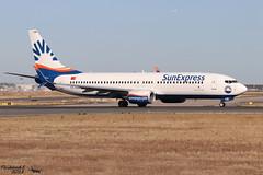 Boeing 737 -8HC(WL) SUNEXPRESS TC-SOB 61175 Francfort septembre 2018 (Thibaud.S.) Tags: boeing 737 8hcwl sunexpress tcsob 61175 francfort septembre 2018