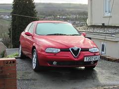 Alfa Romeo 156 (Andrew 2.8i) Tags: classics classic road kingdom united streetspotting cars car street spotting carspotting uk wales bmc italian sedan saloon ts 20ts 20 2000 twinspark 156 alfaromeo