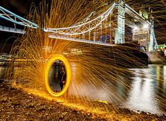 181005 A008 (steeljam) Tags: steeljam nikon d800 lightpainters london bridge wire wool