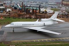 OY-FFI Dassault Falcon 7X (R.K.C. Photography) Tags: oyffi dassault falcon7x 69 execujet europe danish bizjet aviation aircraft luton bedfordshire england unitedkingdom uk ltn eggw canoneos100d londonlutonairport