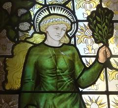 [69063] Birmingham : BM&AG - Four Seasons (Budby) Tags: birmingham westmidlands artgallery museum stainedglass window preraphaelite