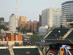 The world beyond Citi Field, 09/29/18 (NYM v MIA): Bland Houses, New York City Housing Authority, Roosevelt Avenue and College Point Boulevard (IMG_3862) (Gary Dunaier) Tags: baseball stadiums stadia ballparks mets newyorkmets flushing queens newyorkcity queenscounty queensboro queensborough citifield