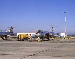 1979_10_011 CF-104 104711 Starfighter (canavart) Tags: exercise mapleflag october 1979 cfbcoldlake alberta lockheed cf104 starfighter 104711 417squadron