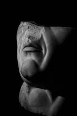 Fade to Black (frnrnd) Tags: architecture architettura archaeology archeologia light shadow luce ombre roma romano rome impero empire italia italy culture heritage blackandwhite biancoenero bn bnw sculpture scultura