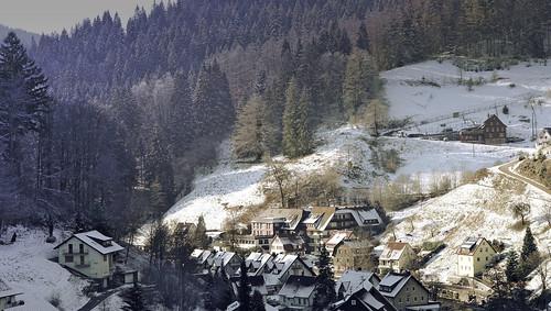 Schönmünzach am 19. Jan. 2019