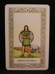 Prince of Discs. (Oxford77) Tags: tarot thenorsetarot norse viking vikings cards card tarotcards