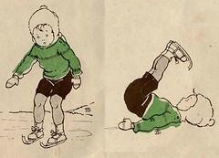 sijtje  Aafjes  Nieuwe oogst voor de kleintjes 1925, ill pg 4-5 (janwillemsen) Tags: sijtjaafjes bookillustration 1925 schoolbook childrensbook