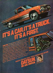 1978 Datsun King Cab Pickup Truck Utility Ute Nissan USA Original Magazine Advertisement (Darren Marlow) Tags: 7 8 9 1 19 78 1978 d datsun k king c cab p pickup truck t u utility ute car cool collectible collectors classic a automobile v vehicle j jap japan japanese asian asia 70s