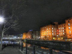 Salthouse Quay at night (Fields of View) Tags: night quay dock liverpool