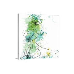 Green Botanica Wall Art - Canvas - Gallery Wrap - Big abstract floral art illustrated through lots of paint splashes and curved lines to represent the flowers.   Check out our website: https://spaceplug.com/green-botanica-wall-art-canvas-gallery-wrap.html (spaceplug) Tags: gift love photooftheday art shop greenbotanica marketplace spaceplug like buy happy wallart like4like nice products botanica amazing bigcanvas followus canvasart style follow4follow