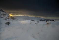 """ SUNRISE BURST "" (Wiffsmiff23) Tags: breconbeaconsnationalpark sunrise southwales penyfan cribbyn corndhu snow craigcerriggleisiad rugged dramatic drama lonetree hawthorn"