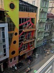 Streets Of Hanoi (cowyeow) Tags: hanoi vietnam asia asian street urban city buildings travel colorful