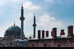 Laleli Mosque, Istanbul (sdhaddow) Tags: istanbul turkey architecture mosque minaret