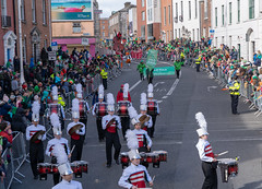CHARLOTTE CATHOLIC HIGH SCHOOL BAND [ST. PATRICK'S DAY PARADE IN DUBLIN - 17 MARCH 2019]-150278