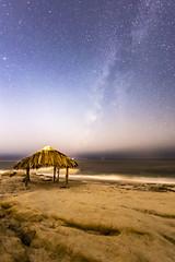 Late Season Milky Way at the Windansea Beach Surf Shack (slworking2) Tags: windansea windanseabeach milkyway sandiego lajolla california night sky surfshack coast pacific ocean nighttime surf shack