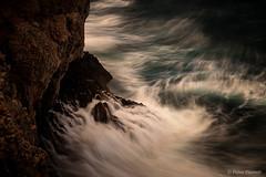 Darkness and Light (Felice Placenti) Tags: darkness light storm rocks water sea mediterranean