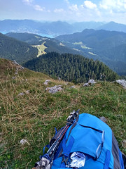 Some Oreos are deserved (aniko e) Tags: fockenstein tegernsee badwiessee aueralm backpack oreo hiking outdoors clouds summer nature bavaria bavarianprealps bayern bayerischevoralpen germany