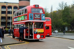 AEC Regent (PD3.) Tags: rt8 rt 8 fxt183 fxt 183 aec regent ensign ensignbus purfleet essex lakeside upminster bluewater gravesend grays bus buses tilbury vintage heritage london transport