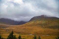Dramatic weather .. Scotland (Julie Greg .. Holiday 13/12 - 31/12 2018) Tags: scotland landscape nature colours sky clouds tree trees river mountains