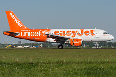 EasyJet / A319 / G-EZOI / EHAM 18R (_Wouter Cooremans) Tags: eham ams amsterdam amsterdamschipholairport spotting spotter avgeek aviaton airplanespotting aviation easyjet a319 gezoi 18r unicef