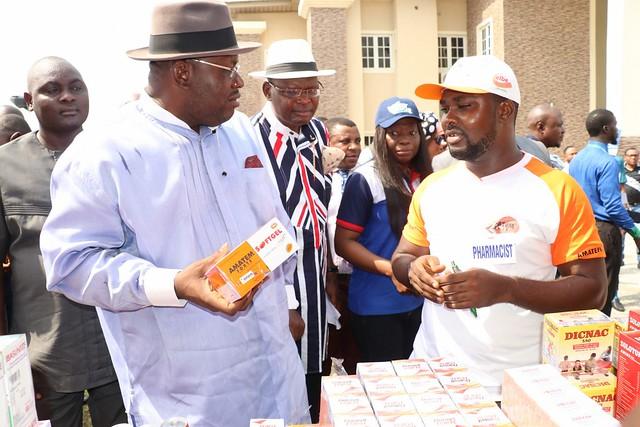 HSDickson - Opening Ceremony of Bayelsa State Pharmaceutical Trade Fair 2018