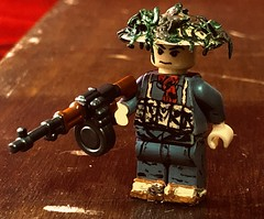 This is my friend Charlie, today's his birthday (TexBricks) Tags: legovietnam brickarmsreloaded brickarms customminifig customminifigure