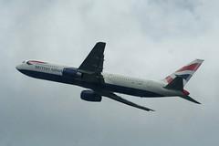 British Airways Boeing 767-300ER from Heathrow T5