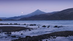 Moonrise, Schiehallion, Loch Rannoch (ShinyPhotoScotland) Tags: achievement annat aspiration astronomy autumn awe balance beautiful blur calm colour contentment contrasts cool digikam dusk dynamic elegance emotion enfuse equipment filter flowing fuji1655f28 fujixh1 goldenhour happy harmony hdr highlandperthshire idyll innocence landscape landwater lightanddark lines lochshore longexposure memories moment moody moon motionblur motionstationary nature nd64 nearfar nisi peace perthshire places pure quiet rannoch raw rockwater schiehallion scotland serifaffinityphoto shapeandform shapely simple skyearth solitary striking sunset synthethiclongexposure toned tranquil triangles twilight vista weather zen