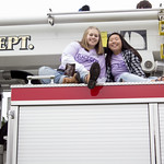 "<b>Homecoming Parade</b><br/> Luther's homecoming weekend involved an annual homecoming parade in downtown Decorah. Oct 26, 2018. Photo by: Annie Goodroad '19<a href=""//farm5.static.flickr.com/4879/44874620345_224debdb24_o.jpg"" title=""High res"">&prop;</a>"