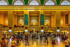 Grand Central Terminal Main Concourse (Eridony (Instagram: eridony_prime)) Tags: newyorkcity newyorkcounty newyork nyc manhattan midtown trainstation interior historic nrhp nationalregisterofhistoricplaces nationalhistoriclandmark constructed1913