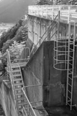 Kurokawa Dam (Hideki-I) Tags: dam nikon d850 2470 blackandwhite hyogo japan kurokawadam bw 白黒 黒川ダム 日本 兵庫 ダム