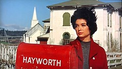 """Suzanne Pleshette in """"The Birds"""" (1963). (stalnakerjack) Tags: birds horror 1963 film alfredhitchcock hitchcock hollywood movies thebirds suzannepleshette"""